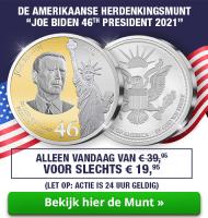 Amerikaanse Herdenkingsmunt van Joe Biden