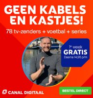 Gratis 1 week Canal Digitaal + Fox Sports