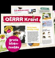 Gratis bloemzaadjespakket van OERRR