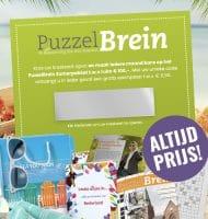 Gratis PuzzelBrein exemplaar + kans op Zomerpakket