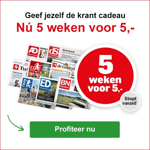 Gratis abonnement op Krant naar keuze
