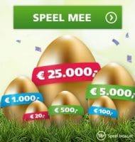 Het Gouden Ei met een gegarandeerd geldbedrag!