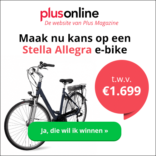 Plus Magazine met Gratis kans op Stella Allegra e-bike t.w.v. €1.699