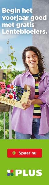 Gratis Perkplantjes bij PLUS supermarkten