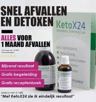 Met KetoX24 in 24 dagen afvallen met Gratis begeleiding