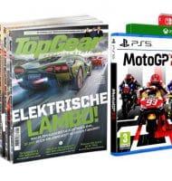 TopGear abonnement met Gratis MotoGP21 t.w.v. € 59,95