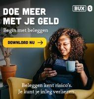 Ga Gratis beleggen met BUX Zero app