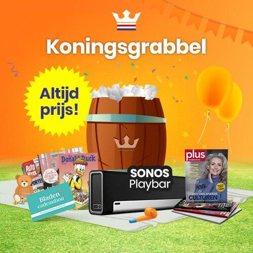 Win fantastische prijzen met Koningsdag Grabbelton