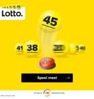 Cash en Lotto loten winnen door Bal 45 te stoppen