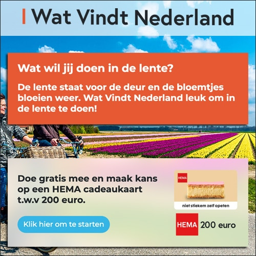 Wat vindt Nederland? Win HEMA cadeaubon t.w.v. € 200