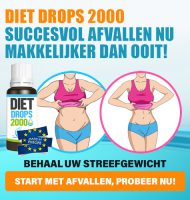 Gegarandeerd Afvallen met Diet Drops 2000
