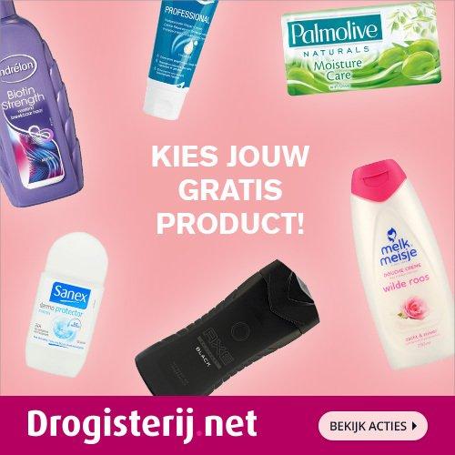 Gratis producten bij Drogisterij.net