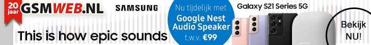 GSMWEB geeft Gratis Google NEST t.w.v. € 99,- weg