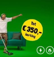 Gratis korting t.w.v. € 350,- bij Budget energie