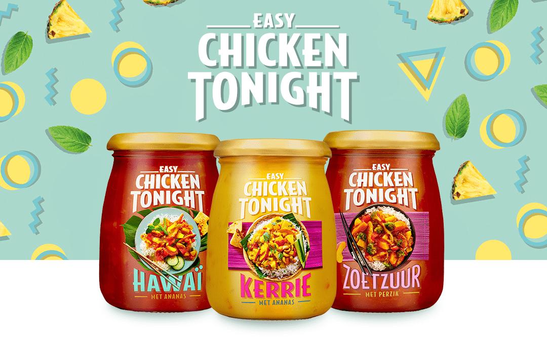 Chicken Tonight kleine potje Gratis proberen