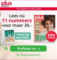 Plus Magazine aanbieding met kans op een iPad