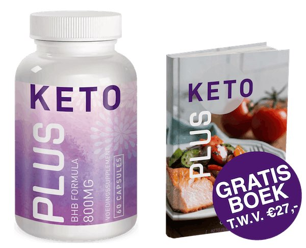 Keto Plus stopt overgewicht + Gratis boek t.w.v. €27