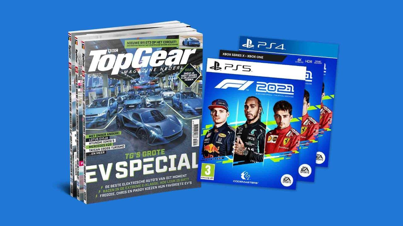 TopGear abonnement + Gratis spel F1 spel 2021