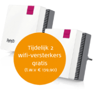 Solcon internet met 2 gratis wifi-versterkers
