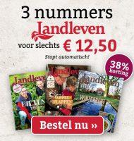 Landleven tijdschrift abonnement voor slechts € 12.95
