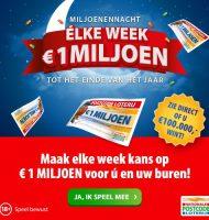 Postcode loterij uitslagen | Wekelijks kans op 1 miljoen